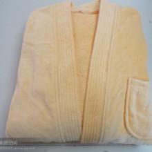 供应有色割绒浴袍 保证质量