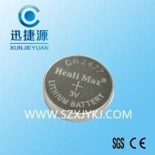 供应CR2477电池人员定位识别卡电池弹片电池座电池可加工焊脚批发
