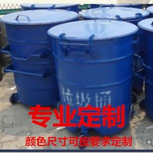 供应深圳铁皮垃圾桶厂家圆形金属园林街道景区三轮垃圾车供应深圳宝安