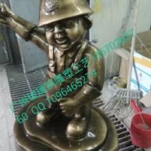 供应玻璃钢消防卡通雕塑 广州艺术雕塑厂家 DIY雕塑批发