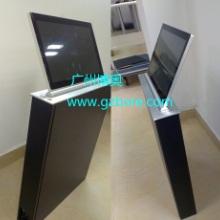 供应铝合金面板超薄含屏液晶屏升降器 广州超薄液晶屏升降器生产厂家