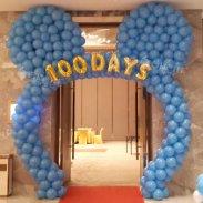 气球拱门/卡通气球装饰/气球造型图片