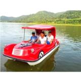 供应老爷船 新型复古电动船 休闲观光园区景区游乐设备 厂家直销