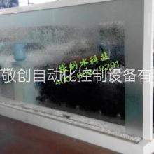 供应,广州敬创水科技玻璃水幕墙水景工程,本实用新型具有比玻璃幕墙更好地观赏效果。批发