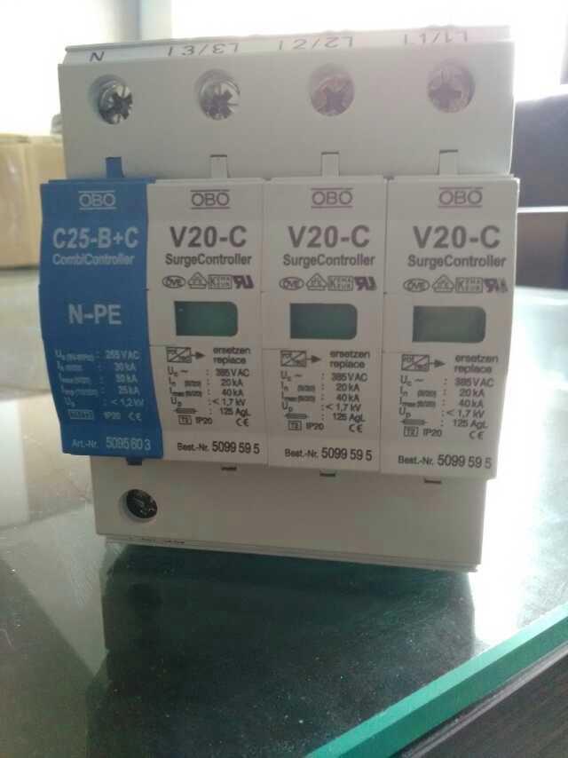 供应OBO浪涌保护器防雷器V25-B