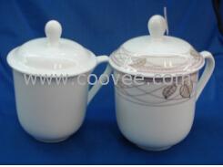 天津陶会议杯定做陶瓷广告杯玻璃杯 天津会议杯定做陶瓷广告杯玻璃杯