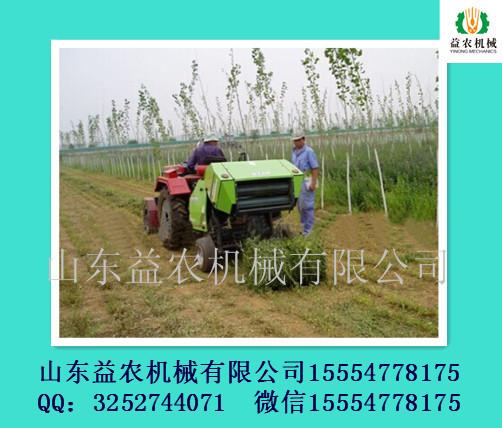 供应用于养殖的益农稻草捡拾打捆机