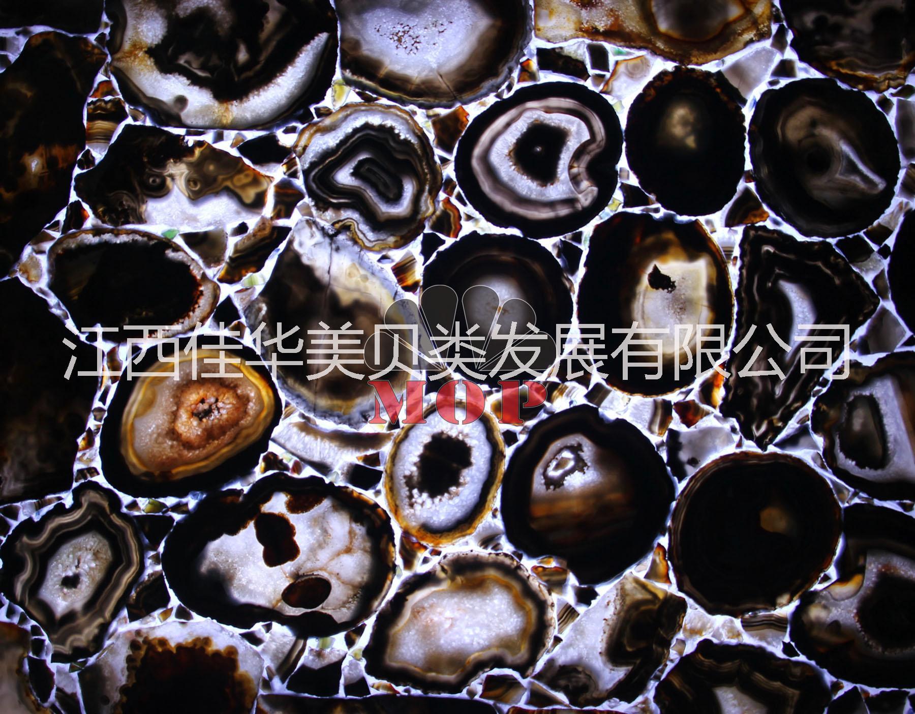 供应供应天然宝石板,黑玛瑙装饰板