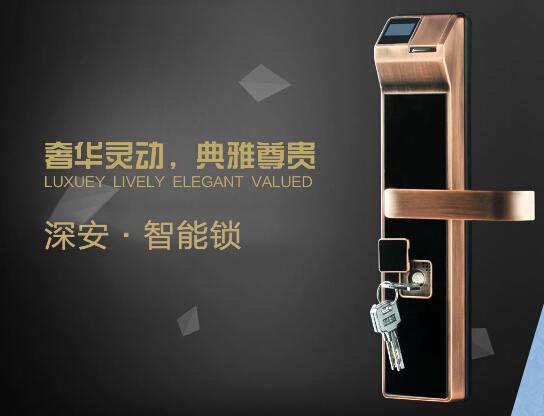 供应用于防盗的酒店智能门锁 家用防盗门锁