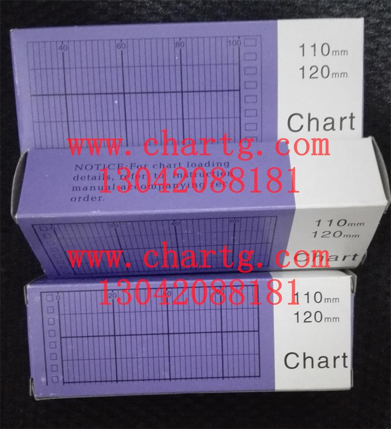 供应深圳chart100120mm纸