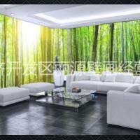 3D森林壁纸空间背景墙纸