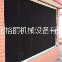 供应塑料降温水帘厂房风机水帘降温系统 除尘设备 使用方法简单 降温除尘效果明显