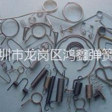 供应用于电子产品 玩具 烫发夹的线成型弹簧批发