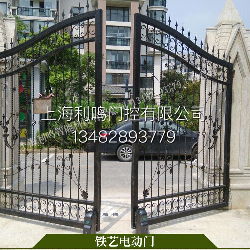 供應上海別墅鐵藝大門,上海別墅鐵藝大門報價單