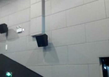 影院墙面专用布艺软包  吸音板图片