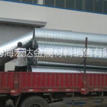 供应螺旋风管配件矩形风管生产厂家承揽安装管道业务批发