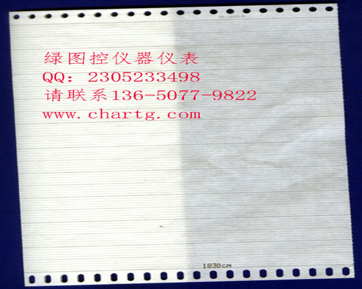 山西ER180记录纸0-1100价格 川仪温度记录纸规格 200mm记录纸厂家