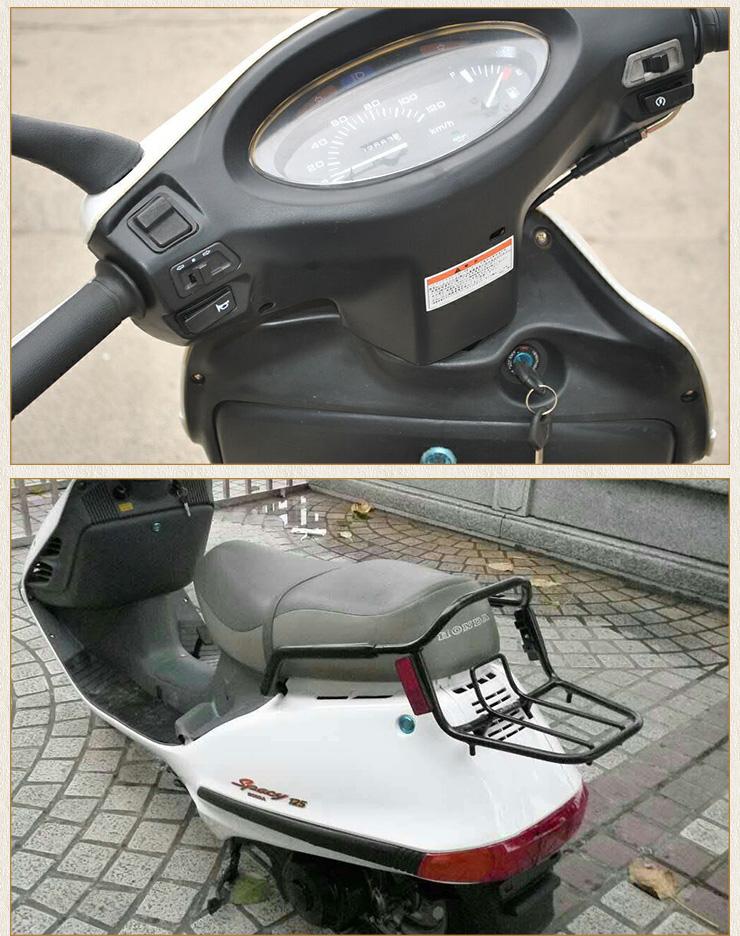 供应本田水冷大白鲨摩托车 水冷发动机脚刹车摩托车全国批发