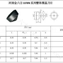 供应金六方RCMX系列立方氮化硼刀具-圆形7度后角锥形定位整体聚晶立方氮化硼刀片图片