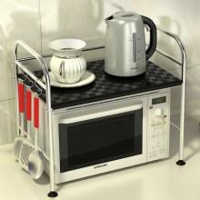 供应不锈钢厨房微波炉置物架烤箱架储物批发