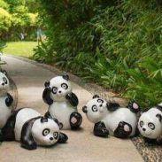 广东仿真熊猫雕塑价格,厂家,图片,价格详情,3D人物雕塑