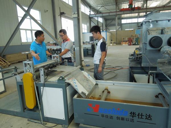 橡塑发泡保温管/板材生产线
