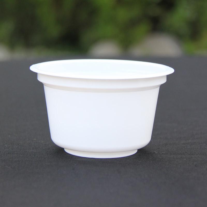 供应一次性塑料酸奶杯200ml可彩印