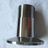 供应用于的不锈钢快装外丝 卫生级外螺纹