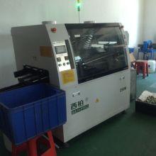 供应中小型经济节能焊锡机厂家直销稳定可靠无铅波峰焊专业生产标准电源板焊锡机图片