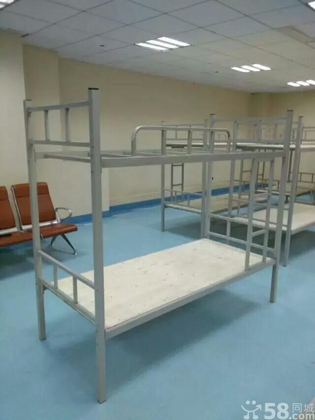 办公家具学生双层上下铺铁床 员工高低床两层床铁架床宿舍上下床