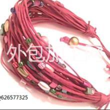 供应用于装饰|配饰的饰品手镯手链项链戒指头饰串珠点钻批发