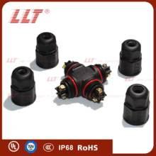 供应L20-4T型LED路灯防水接头/供应L20-4T型防水接线器/供应L20-4T型防水接头T型连接器防水T型螺丝批发