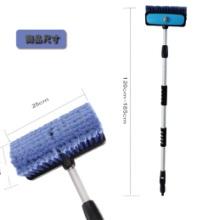 供应用于清洗刷丝的汽车洗车刷丝生产基地 PVC混色丝 PVC刷丝 塑料毛丝图片