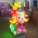 供应新郑儿童1-7岁投币摇摇车游戏机 旋转升降小飞机轨道投币小火车充气城堡淘气堡定做