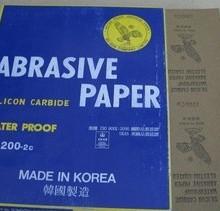 供应用于抛光打磨的双鹰砂纸 韩国鹿牌砂纸
