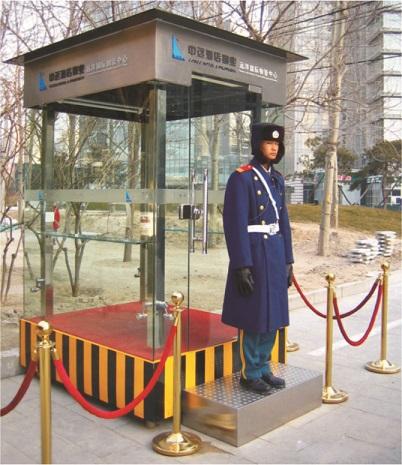 供应郑州玻璃岗亭,让你的专业变得透明