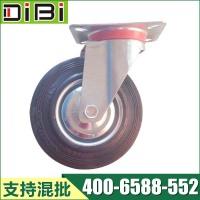 5寸工业橡胶万向轮 5寸工业橡胶万向轮广东生产厂家