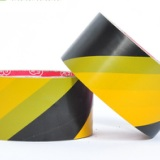 供应黑黄警示胶带斑马线胶带地板胶带车间巾地胶带