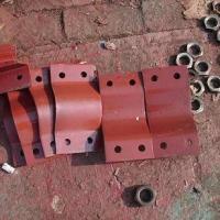 供应用于支吊架的A2U形额螺栓 弹簧支吊架配件 滑动管托 滑动支吊架专业生产厂家 中石化支吊架标准
