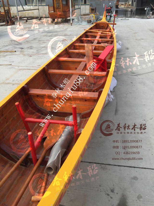 手工制作端午节木船龙舟船景点装饰报价