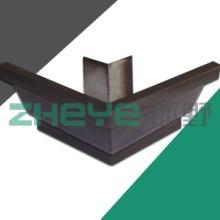 供应用于屋面排水的铝合金排水槽/方形雨水管/天沟落水系统批发