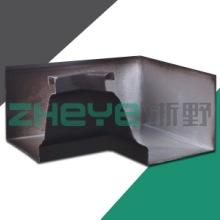 供应用于屋面排水的彩铝天沟/排水槽及配件/雨水槽批发