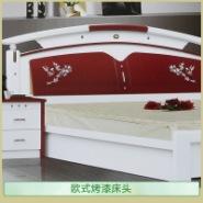 欧式烤漆床头图片