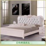 供应白色烤漆床头 河北白色烤漆床头 烤漆床头订做 实木烤漆床头 石家庄白色烤漆床头