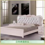 白色烤漆床头图片