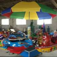 界首儿童游乐园设备旋转六座熊出海图片