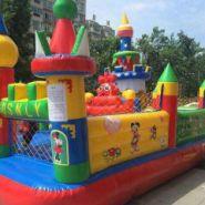 濮阳内黄充气儿童乐园跳跳床图片