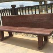 水泥仿木桌椅/仿木凳/仿木椅图片