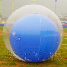 供应双层落地球广告气球飘空气球灯笼球单层落地球氢气球充气气球充气气模批发