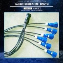 供应流动演出用接插件电缆 信号电缆批发 猪尾线厂家报价
